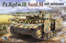 Pz.Kpfw.III Ausf.M mit schurzen 1:35