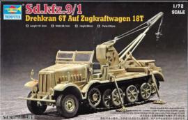 SdKfz. 9/1 with Bilstein Crane (Late)