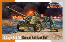 Special Armour | SA72025 | 7.5cm Pak40 | 1:72