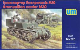 UM | 226 | M30 Ammunition carrier | 1:72