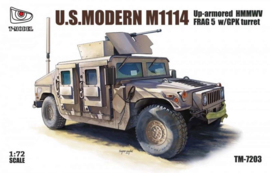 M1114 Up-Armored Humvee Frag 5 with GPK Turret