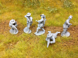 EarlyWarMiniatures | knilinf1 | 5 Dutch Knil soldiers | 1:72