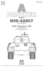 Takom | 2098 | Panther Ausf.A mid-early | full interior | 1:35