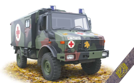 ACE | 72451 | Unimog U1300L 4x4 ambulance | 1:72