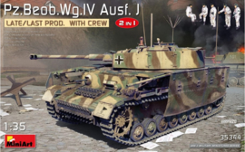 Miniart | 35344 | Pz.Beob.Wg.IV Ausf J | 2in1 with crew | 1:35