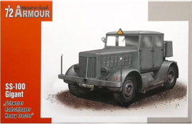 """Special Armour   SA72001   SS-100 Gigant """"Schwerer Radschlepper/Heavy Tractor""""   1:72"""