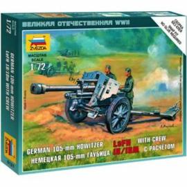 105mm howitzer lefh 18/18M with crew