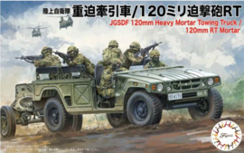 Fujimi | 723181 | JGSDF 120mm heavy mortar towing truck | 1:72 | 1+1