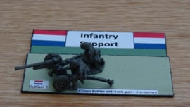 EarlyWarMiniatures | dutgun5 | 4.7cm Bohler with crew | 1:72