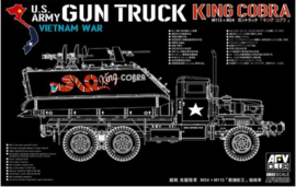 AFV Club | AF35323 | Gun truck King Cobra (M54 with M113) | 1:35