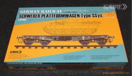 Sabre   35a02   Schwere Plattformwagen type SSys    incl upgrade   1:35