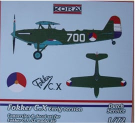 Kora | C7254 | Fokker C.X Early | 1:72