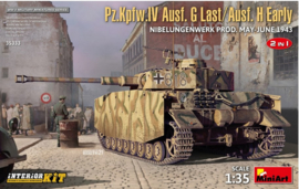 MiniArt | 35333 | Pz.Kpfw.IV Ausf. G last/ Ausf. H early | 2in1 | interior kit | 1:35
