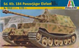 Italeri | 7012 | Sd.Kfz. 184 Panzerjäger Elefant | 1:72