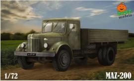 Garbuz models | 72-01 | MAZ-200 | 1:72