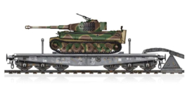 HobbyBoss | 82934 | Schwere Plattformwagen SSyms80 & Pz.KpfwVI Ausf E Tiger | 1:72