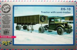 PST | 72063 | ZIS-10 tractor with semi-trailer | 1:72