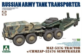 MAZ-537G Tractor with CHMZAP-5247G semitrailer