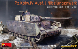MiniArt | 35342 | Pz.Kpfw.IV Ausf.J Nibelungenwerk late prod. (jan-feb 1945) | Full interior | 1:35
