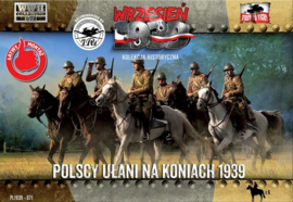 Polish Lanciers on horses
