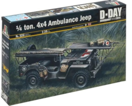 Italeri | 326 | 1/4Ton 4x4 Ambulance Jeep | 1:35