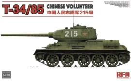 Rye Field Model   5059   T-34/85 Chinese Volunteer   1:35