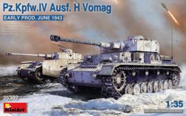 MiniArt | 35302 | Pz.Kpfw.IV Ausf. H Vomag | 1:35
