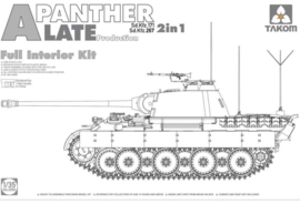 Takom | 2099 |Panther Ausf. A Late | 2in1 | Full interior | 1:35