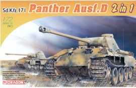 Dragon | 7547 | Sd.Kfz171 Panther Ausf. D 2in1 | 1:72
