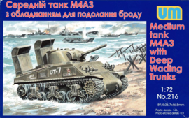 UM | 216 | M4A3 with deepwading Trunks | 1:72