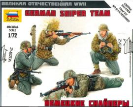 Zvezda   6217   German sniper team   1:72