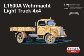 Attack | 72904 | L1500A Wehrmacht Light Truck 4x4 | 1:72