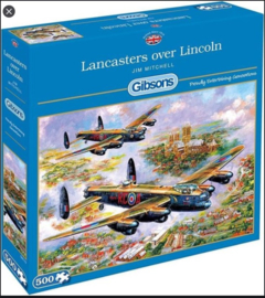 Gibsons | Puzzel 500 | Lancasters over Lincoln