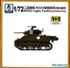 M3A3 Light Tank - (french and Chinese Army)  1+1