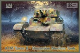 Hungarian 41M Turan II Medium Tank