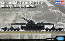 Karl-Geraet 040/041 on Railway Transport carrier