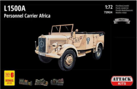 Attack | 72924 | L1500A Personnel Carrier Africa | 1:72