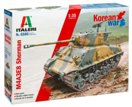 Italeri   6586   M4A3E8 Sherman Korean War   1:35