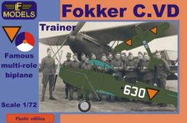 LF models | PE7203 | Fokker C.VD trainer | 1:72