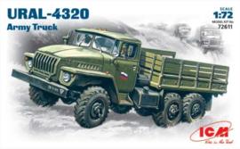 ICM | 72611 | URAL-4320 Army Truck | 1:72