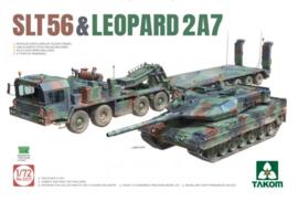 Takom | 5011 | SLT56 & Leopard 2 A7 | 1:72