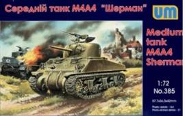 UM | 385 | M4a4 Sherman | 1:72