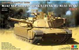 Rye Field Model | 5004 | M1A2 SEP Tusk I/II  3in1 | 1:35