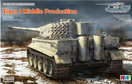 Rye Field Model | 5010 | Tiger I Mid production with full interior | 1:35