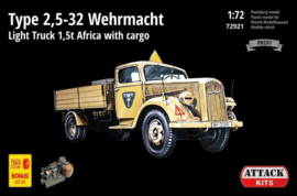 Opel Type 2,5-32 Wehrmacht Africa with gargo