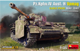 MiniArt | 35298 | Pz.Kpfw.IV Ausf. H Vomag | with interior | 1:35