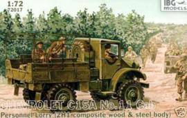 Chevrolet C15A No.11 Cab Personnel Lorry