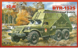 ICM | 72511 | BTR-152S Armored Command Vehicle | 1:72