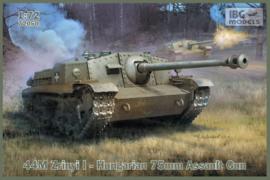 Hungarian 44M Zrinyi I - 75mm Assault Gun
