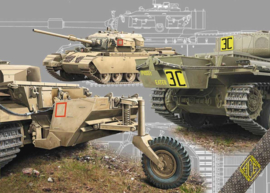 ACE | 72428 | Long Range Centurions Mk.5LR/Mk.5/1 with external fuel tanks | 1:72